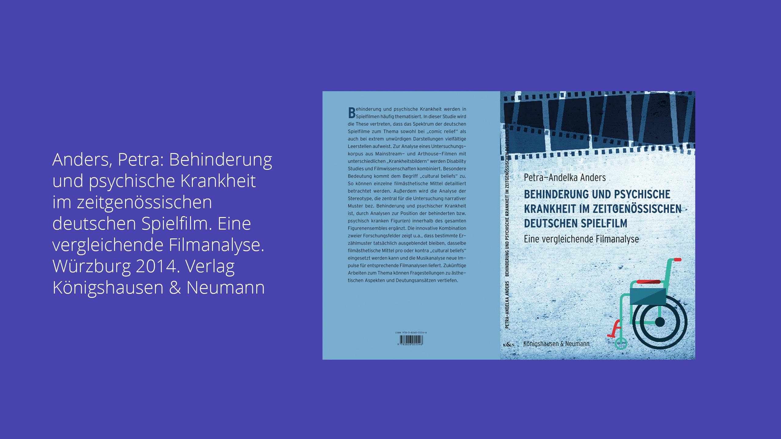 Monographie mit englischer Zusammenfassung